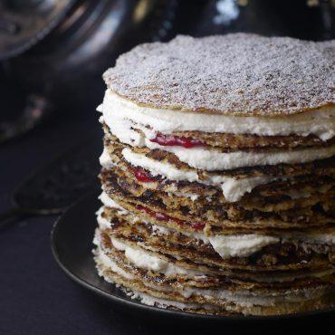 vegan gluten-free crepe cake recipe