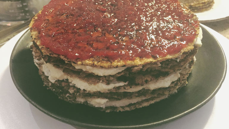 Vegan Jelly Cake Recipe: Raspberry Whip Vegan Crepe Cake Recipe (Gluten-Free