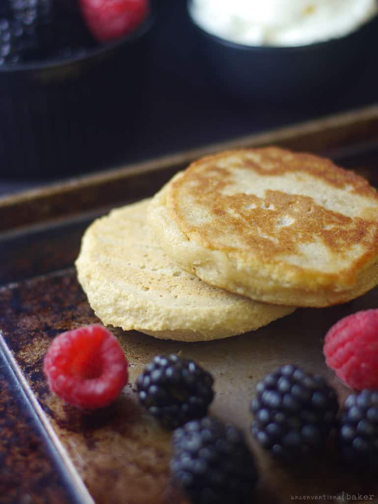 baked paleo vegan syrniki versus fried syrniki