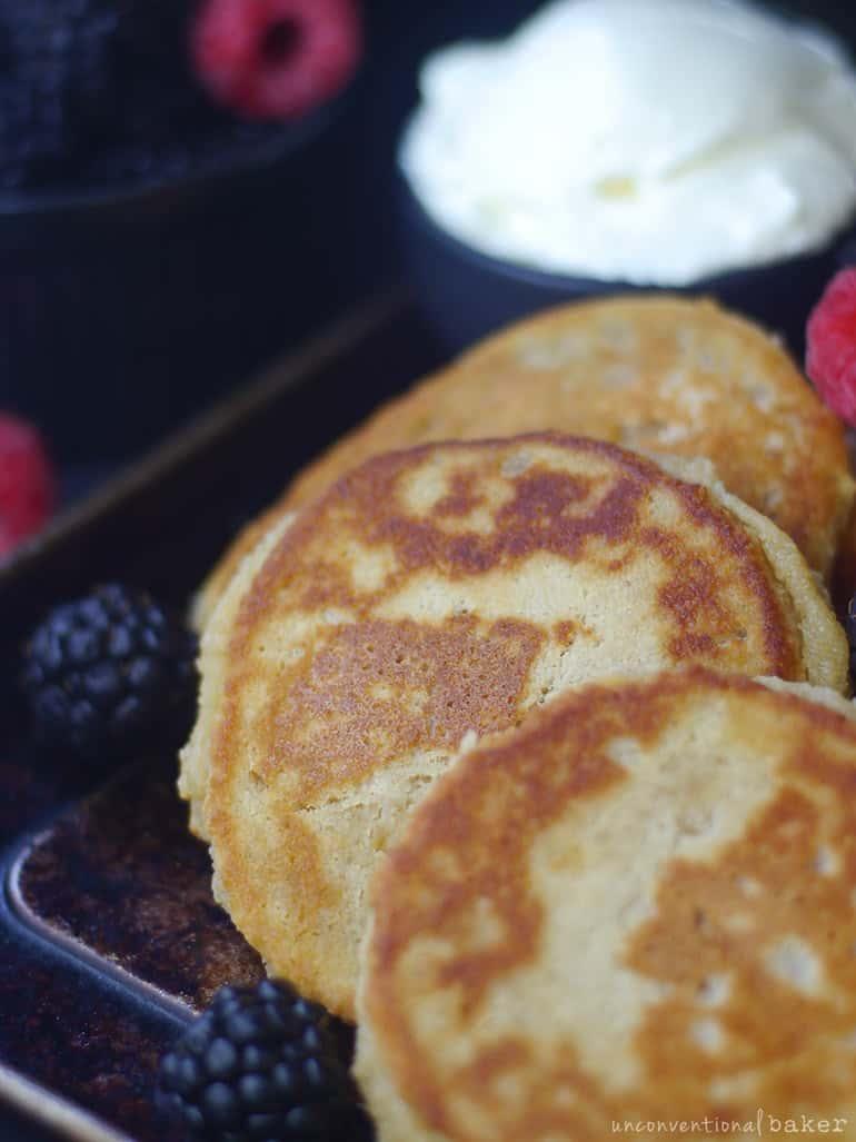 gluten-free dairy-free cheese pancakes