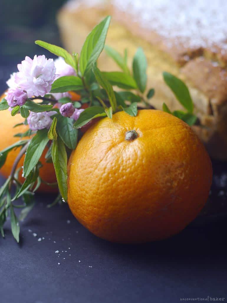 gluten-free vegan tangerine dessert