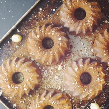gluten-free vegan chocolate semifreddo dessert