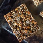 sunflower and chia seed bars (gluten-free, vegan, paleo, nut-free, oil-free)
