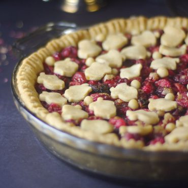 gluten-free vegan cranberry pie recipe