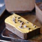 peanut butter pumpkin chocolate fudge (vegan, gluten-free, oil-free)