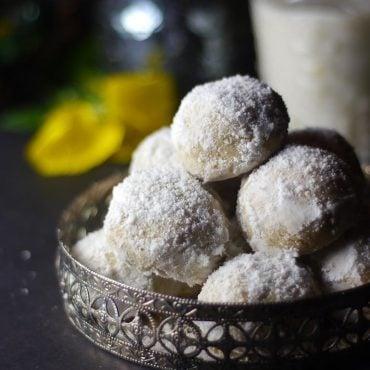 Gluten-Free Vegan Mexican Wedding Cookies