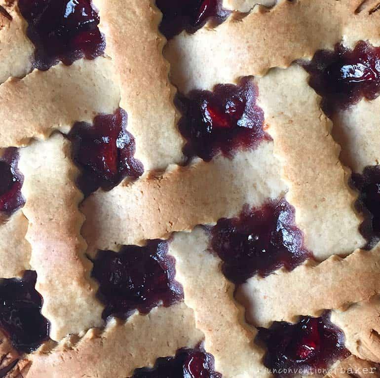 cherry pie -- vegan gluten-free