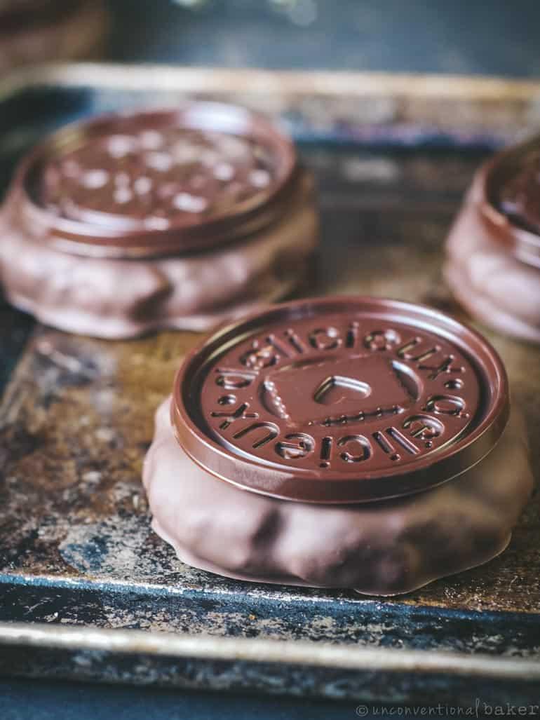 no-bake candy bar cookies (vegan, gluten-free, paleo)